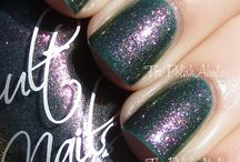 Cult Nails Masquerade Collection / Masquerade released Nov 2013 / by Cult Nails