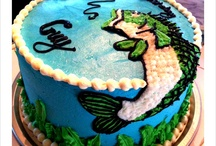 Hunting/Fishing Cakes