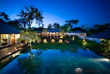 Villas / Villa & resort photography day and night