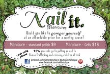 Nail It Boutique Maricopa / Affordable gel manicures with the creative twist of your choice!  Location: Maricopa, AZ, United States. Check out my work to see what I can create for you!