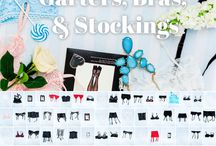 Our Wardrobe: Garter Belts, Stockings, and Bras