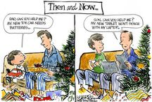 Life: Then and Now / How things have changed over the years in the way we communicate, socialize and live our lives