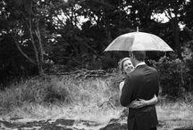 // Rainy Day Weddings - rain on a wedding day // / Ideas for wedding photos on a rainy day