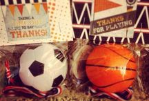 Sports Party Ideas / by Gretchen | Three Little Monkeys Studio