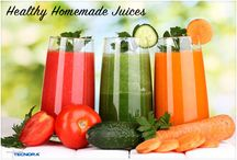 Home made juices