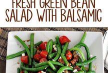 Salat  - Grønne bønner