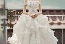 皇室風ドレス