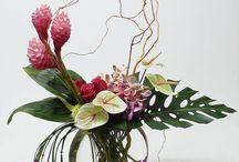 Flower-Vase arrangement