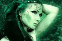 Mermaids / Fish/human, like a siren with a amazing beauty figure, with a killer sining voice.