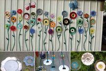 Garden crafts - ideas