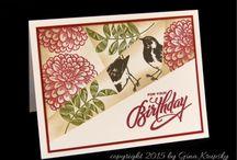 Birthday/ Verjaardag / Cards, digi stamps, text