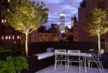 Gardens After Dark / Inspiration for lighting up and adding warmth to your garden after dark.  / by Garden Design
