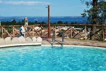 Pool Cascina Crocelle / From The heated pool , with a panoramic view over Garda lake and the village, is open from May to October. Within the olive grove we have also created an area to relax in, with deckchairs and beach umbrellas. www.cascinacrocelle.it