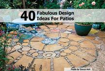 Garden features and patios / garden features