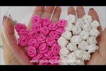Silkkikukkien valmistus