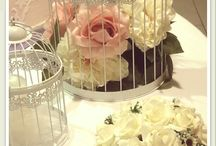 Sweet table  cresima a tema floreale