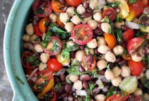 Receipes / Bean salad
