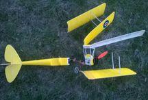 Crashed planes