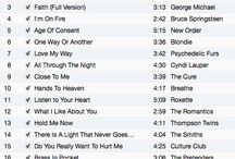My Playlists / I love to carefully curate music that inspires me into cohesive playlists.