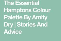 Hamptons paint colours