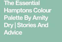 Hamptons paint colours