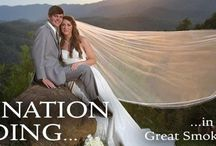 Weddings in the Great Smoky Mountains / Tie the knot in the Great Smoky Mountains. It is an event to be remembered and cherished!