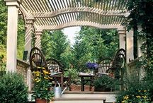 Outdoor Spaces / Outdoor conservatories and little house ideas I love / by Ruth Malone