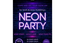 Corporate Neon Glow Party Package