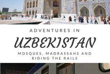 UZBEKISTAN / UZBEKISTAN and travel in Uzbekistan