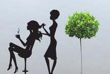 Wall Decals Salon