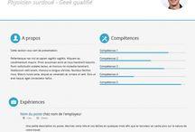 Resume / CV Templates / by Skyje