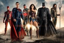 Justice league (2017) / Fueled by his restored faith in humanity and inspired by Superman's selfless act, Bruce Wayne enlists the help of his newfound ally, Diana Prince, to face an even greater enemy. Superheroes United to save the human kind. Batman (Ben Affleck), Wonder Woman (Gal Gadot), Flash (Ezra Miller), Aquaman (Jason Momoa), Cyborg (Ray Fisher)...