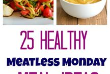 Vegetarian + Meatless Monday Meal Ideas