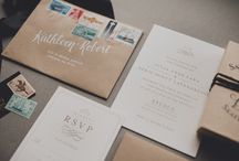 MINE | Calligraphy & Hand Lettering / Calligraphy, hand-lettering, invitations, envelopes, stationary / by Carolyn Kach