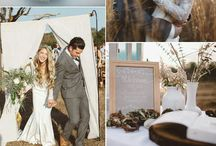 Lilac, natural & Grey wedding theme