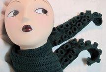 Crochet - scarfs, cowls, shawls