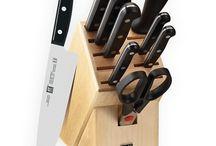 Couteaux de cuisine / Plus de 50 couteaux pour tous les besoins en cuisine.