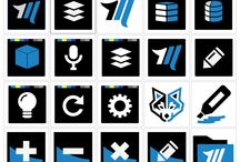 Icons & Logos / App and web icons plus logos and other Vector based graphics