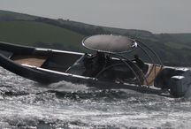 HYST chase tenders / 2013 saw the launch of our new HYST series chase tenders from 9.5 to 15m powered by either twin outboards or inboard diesels