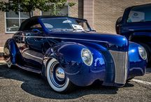 30, 40, 50, & 60,s custom fords / by Gene Cochrane