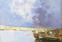 Quadri e Gouaches - Napoli e dintorni