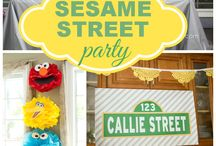 Can You Tell Me How To Get To Sesame Street Party / by Angela Hoover