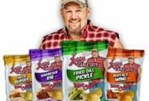 "Larry the Cable Guy / We love funny - and that is why we love Larry the Cable Guy. KLN Family Brands has partnered with him to bring you a line of ""Tater Chips"" with all of his favorite flavor combinations. Like his other products, a portion of his sales go to his charity. Find them in a store near you by checking out this website: http://www.gitrdonefoundation.org/who/tater-chips/. As Larry would say, GIT-R-DONE!"