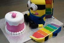 Minion cake / Love minions tasty and funny
