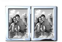 SILVER PLATED FRAMES / Silver Plated Photo & Picture Frames. Each silver plated frame has a deluxe velvet back with a high quality Silver Plated , Tarnish Resistant surround. The silver plated frames can all be hung on the wall or used free standing.