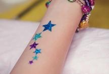 glitter tattoo ideas