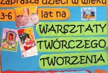 Warsztaty Twórczego Tworzenia / Od marca  2014 w Przedszkolu Mądry Maluch w Rumi ruszyły Warsztaty Twórczego Tworzenia. Zapraszamy wszystkie dzieci w wieku 3-6 lat.  Szczegóły na www.madrymaluch.edu.pl