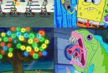 Stranger Things - spongebob
