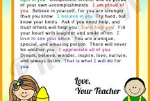 back-to-school letter