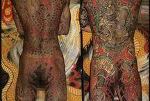 irezumi, tattos japonéses